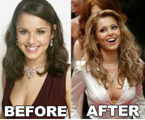Cheryl Cole Body Transformation
