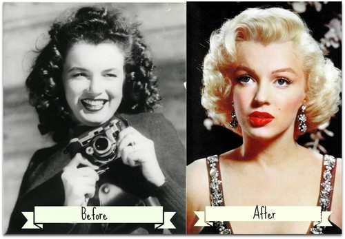 Marilyn Monroe Plastic Surgery Before After
