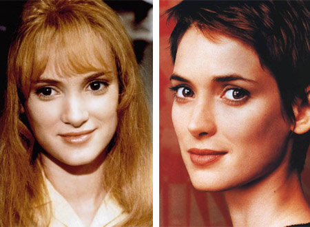 Winona Ryder Plastic Surgery Before After